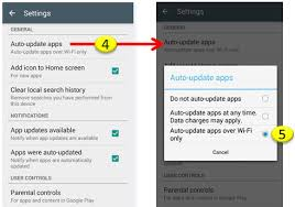 app updates android android updating app through play store kylook faq