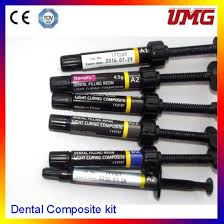 light cure composite filling china wholesale dental light cure composite resin filling