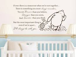 Vinyl Wall Decals For Nursery Free Shipping Winnie The Pooh Vinyl Wall Stickers If There Is