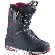 womens boots purple salomon snowboard boots s 2016 evo