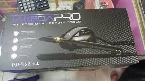 Catok Uap jual catok rambut takeda pro m6 m 6 black professional dengan uap