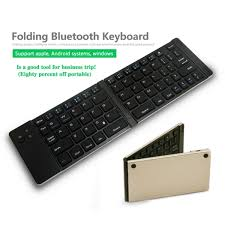 bluetooth keyboard android foldable wireless bluetooth keyboard for ios android windows the