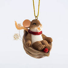 charming tails mouse ornament ebay