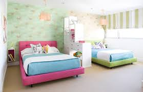 Pink And Lime Green Bedroom - turquoise and lime green curtains design ideas