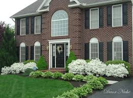 Home Landscaping Ideas by Shrubs For Front Of House Garden Ideas