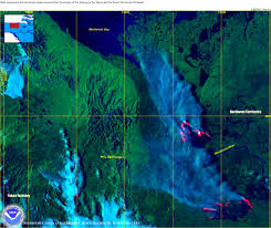 Wildfire Map Of Canada by Gfmc Selected Examples For Imagery Information Sources An