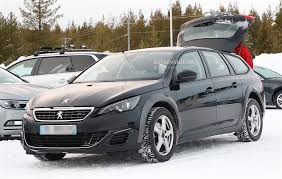 2018 peugeot 508 mule spied with modified 308 sw body autoevolution