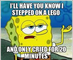 Spongebob Squarepants Meme - spongebob squarepants meme stepped on a lego on bingememe