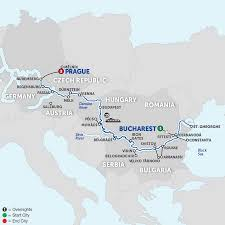 Passau Germany Map by Europe Wine River Cruises Avalon Waterways