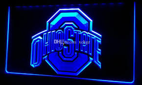 ohio state neon light 2018 f224 ohio state new 3d led neon light sign retail and