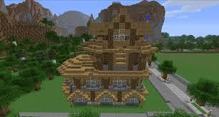 arcade en bois indogate com maison moderne dansminecraft