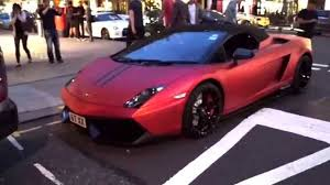 red chrome lamborghini matte red lamborghini gallardo 570 4 performante youtube