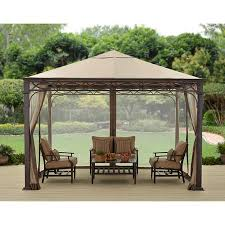 Better Homes And Gardens Summer - better homes and gardens courts landing valance gazebo 12 u0027 x 10