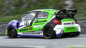 mitsubishi mirage turbo mitsubishi mirage r5 wrt e1 hillclimb car stefan wiedenhofer