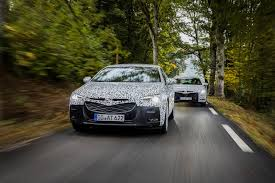 opel insignia grand sport 2017 opel teases 2017 insignia grand sport gets new intellilux