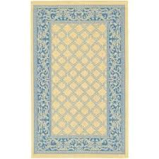 Yellow And Blue Outdoor Rug Striped Outdoor Rugs Rugs The Home Depot Blue And Yellow Rugs
