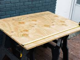 wood fire pit table 2 turn an unused fire pit into a custom game table hgtv