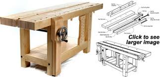 workbench top plans pdf woodworking
