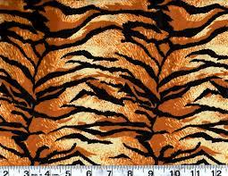 animal print cotton fabric tiger skin print by the yard 256 3