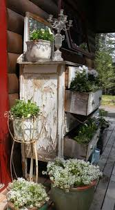 Shabby Garden Decor 83 Best Shabby Outdoor Decor Images On Pinterest Apothecaries