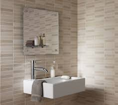 Glass Tile Bathroom Ideas by Modern Bathroom Bathroom Handsome Bathroom Decoration With Brown