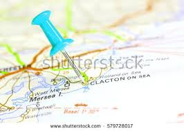 clacton on sea map clacton on sea stock images royalty free images vectors