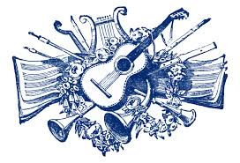 vintage clip art antique musical printers ornaments the
