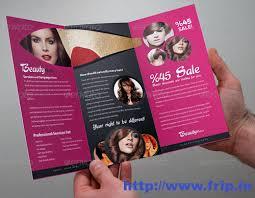 50 best spa fitness u0026 hair salon brochure template frip in
