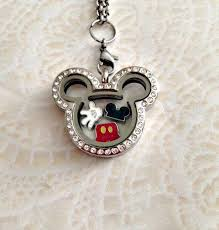 floating locket necklace chains images Best 25 floating charms ideas mickey mouse jewelry jpg