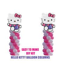 hello kitty birthday balloons hello kitty party decorations diy