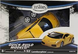 lamborghini gallardo kit amazon com testors lamborghini gallardo car 1 32 scale toys