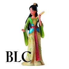 disney showcase mulan couture de statue disney figurines