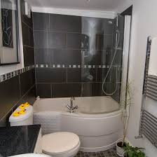 gallery crow pie cottage matlock bath family bathroom with bath over bath shower curved glass shower screen
