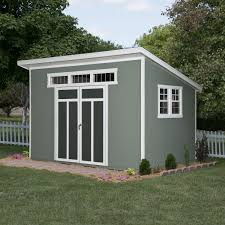 Backyard Office Kit by Backyard Sheds Menards Simple Outdoor With Great Garage Kits
