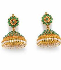 Buy Kundan Embellished Dangler Earrings Buy White Beads And Kundan Embellished Dangler Earrings Danglers