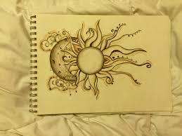 sun and moon mandala drawing alleghany trees