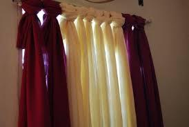 Easy No Sew Curtains Easy Peasy No Sew Curtain Honeysuckle Life