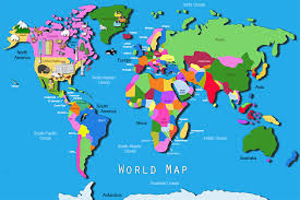 download map world jungle major tourist attractions maps