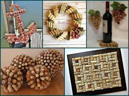 Home Decore Diy by Recycling Ideas For Home How To Use Wine Corks Handmade 3d