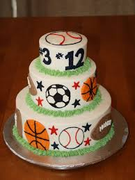 birthday cakes images sports birthday cakes for kids sports