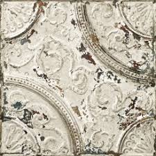 antique off white tin tiles wallpaper 011p02x6 koziel fr
