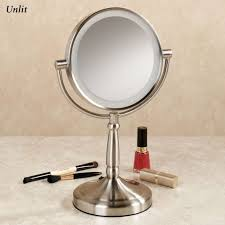 bathrooms design large vanity mirror with lights illuminated led