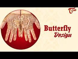 butterfly mehandi design simple mehandi designs for