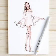 fashion sketches cute dresses u2013 fashion design images