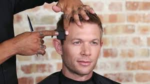 hair under ears cut hair men s haircut detailing the front corner and behind the ear youtube
