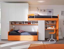 Bedroom Design For Two Beds Bunk Bed With Desk 60 Creative Ideas To Save Space Home Decoo