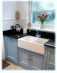 kitchen with apron sink farmhouse kitchen sinks robins plumbing inc