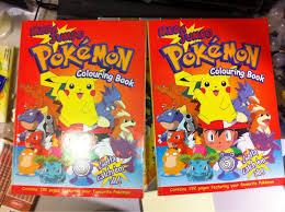 pokemon mega jumbo colouring book nw7 edgware 3 00
