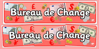 bureau de change display travel travel