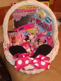 minnie mouse easter basket ideas doc mcstuffins gift basket gift baskets for children gift